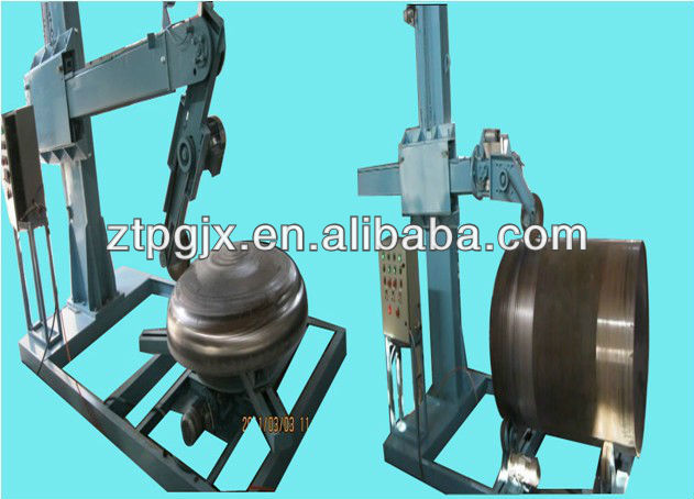 automatic polishing machines for stainless equipment