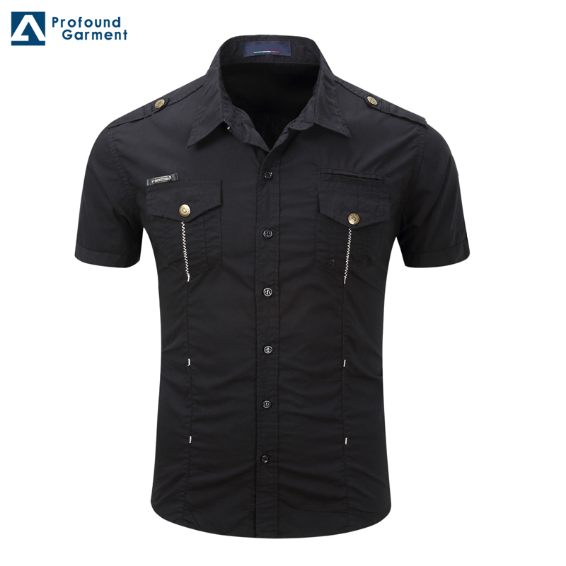 stock lot short sleeves factory clothing buttons up tactical <strong>shirt</strong>