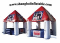 Advertising inflatable food booth tent outdoor restaurant booth inflatable candy booth tent