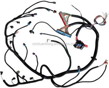 vortec motor 5 3l mechanical throttle body standalone wiring harness rh alibaba com