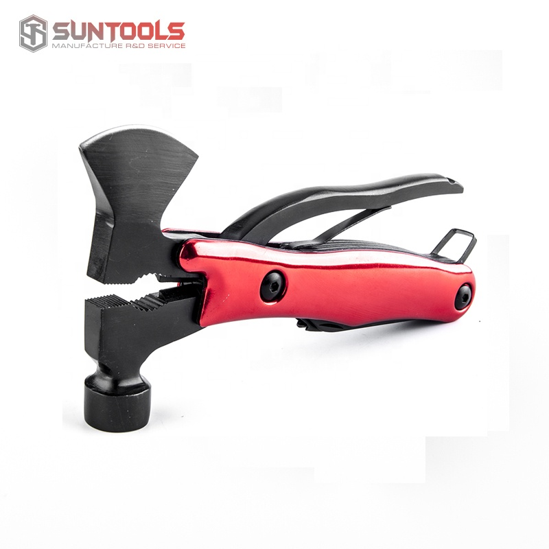 SUNTOOLS Outdoor camping multi tool with axe of black blade tools