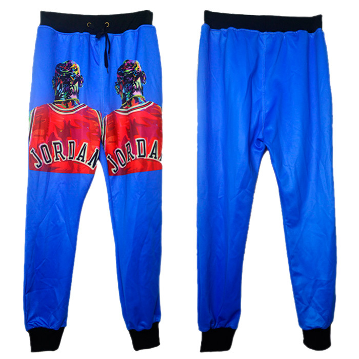 Alisister 2015 new fashion men/women's joggers pants 3D print The Last Shot basketball sweat pants man jogging sweatpants
