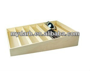 Wooden Sunglass Storage Box