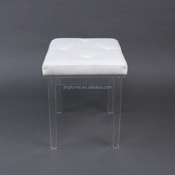 Modern Acrylic Plastic Bar Stool