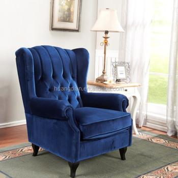 Single Sofa Chair High Back Living Room Chairs -sf7169 - Buy ...