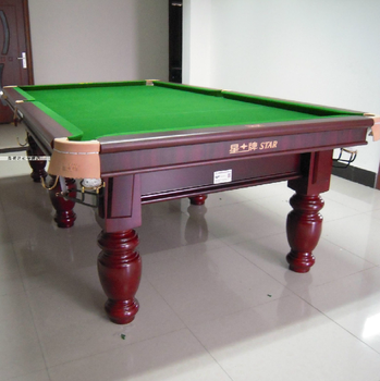 Star Brand Table Tennis Table Black 8 Pool Table For Sale