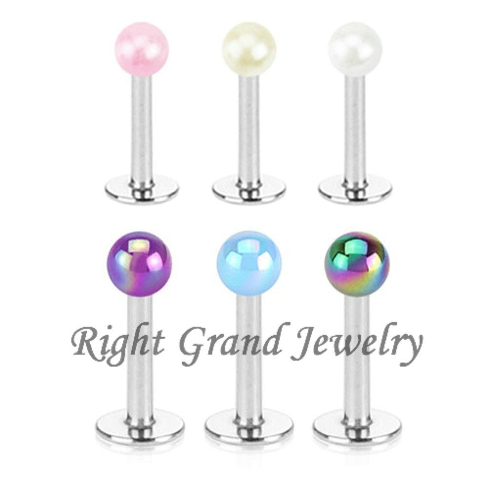 Alibaba China Suppliers Labret Jewelry Customized Unique Lip Piercings