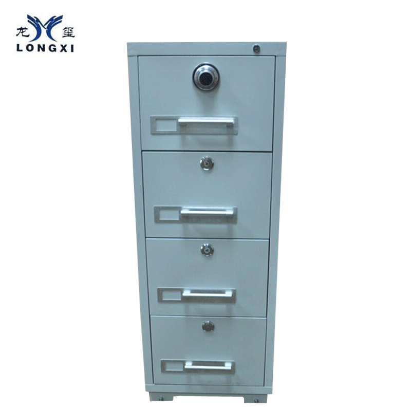 2 hours fire resistant fireproof drawer filing cabinet