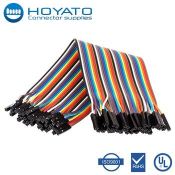Ul2651 28awg Flat Ribbon Cable 2.54mm Pitch 40 Pin 40 Way F F ...