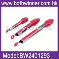 bbq roasting shovels TSJ05006 silicone food tong