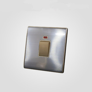 BIHU China supplier premium quality stainless steel UK 20a wall electrical water heater switch