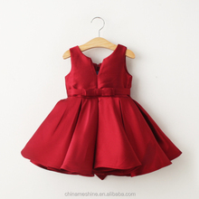 MS69423C Princess stylish back now fashion dress red colour frock