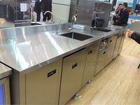Beautiful stainless steel commercial bar equipment for restaurant or Hotel