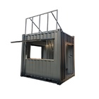 Free Design Mobile 10ft and 20ft Shipping Container Shop