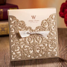 2017 luxury new products decorating wedding invitations