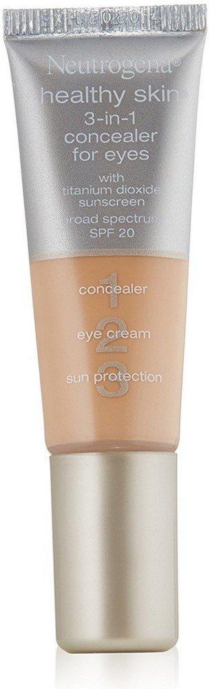 Neutrogena Healthy Skin 3-in-1 Concealer For Eyes, SPF 20, Light [10] 0.37 oz (12 Pack)