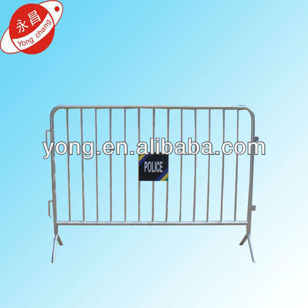 2014 Crowd Control Traffic Barricade Galvanized Portable Fence Barrier For Sale