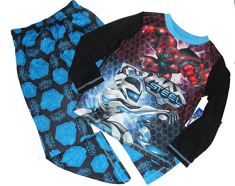 Max Steel Boy Miles Dread Boys Size 6//7 Pajama Shorts Set