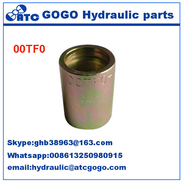 (00TF0-16) Perfect High Pressure Hydraulic Pipe Ferrule <strong>Fittings</strong>