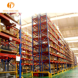 Heavy duty double sides Industrial warehouse racks for fabric rolls
