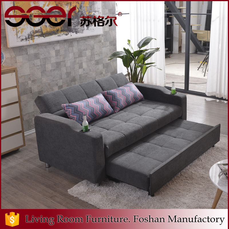 Fashionable popular product bedroom furniture cloth sofa designs