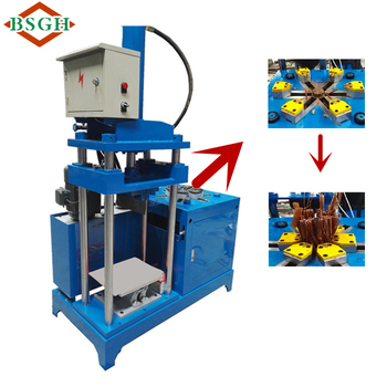Scrapping industrial electric motor recycling machine for Electric motor recycling machine