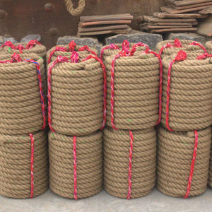 3mm-60mm High Quality Raw Hemp Jute Rope With High Tensile Ropes Wholesale