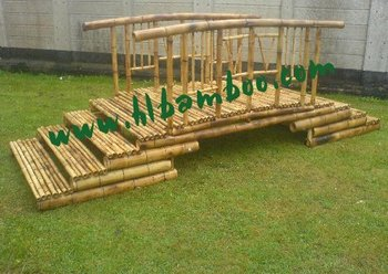 Traditional Bamboo Arch