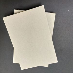 high quality thick 1mm cardboard grey chipboard paper