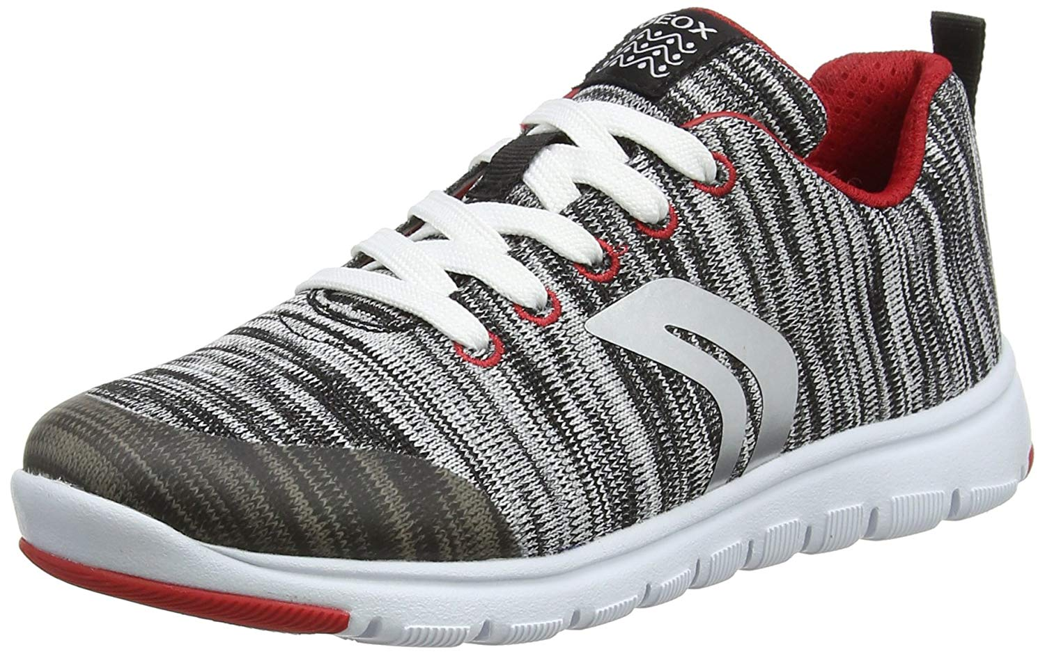 Geox J Xunday B L Boys Sneakers/Woven Textile Shoes