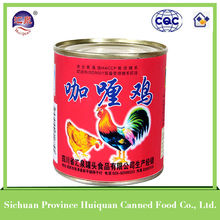 312g Canned Curry Chicken canned chicken,canned chicken luncheon meat,chicken