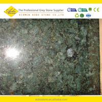 Brazil Peacock Green granite tiles