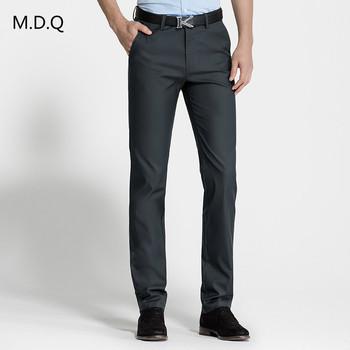 58217acd56 2017 de alta calidad Pantalones Hombre chino Pantalones de vestir para  hombres