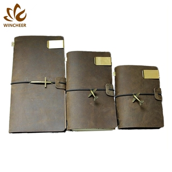 Chinese manufacturers hardcover bound notebooks leather organiser diary note book