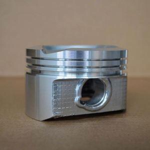 hot sales customized aluminium alloy tinned engine part 73mm piston 2c