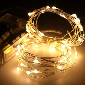 Cheap 3AA waterproof battery operated commercial Christmas tree starlight wire globe string lights in bulk