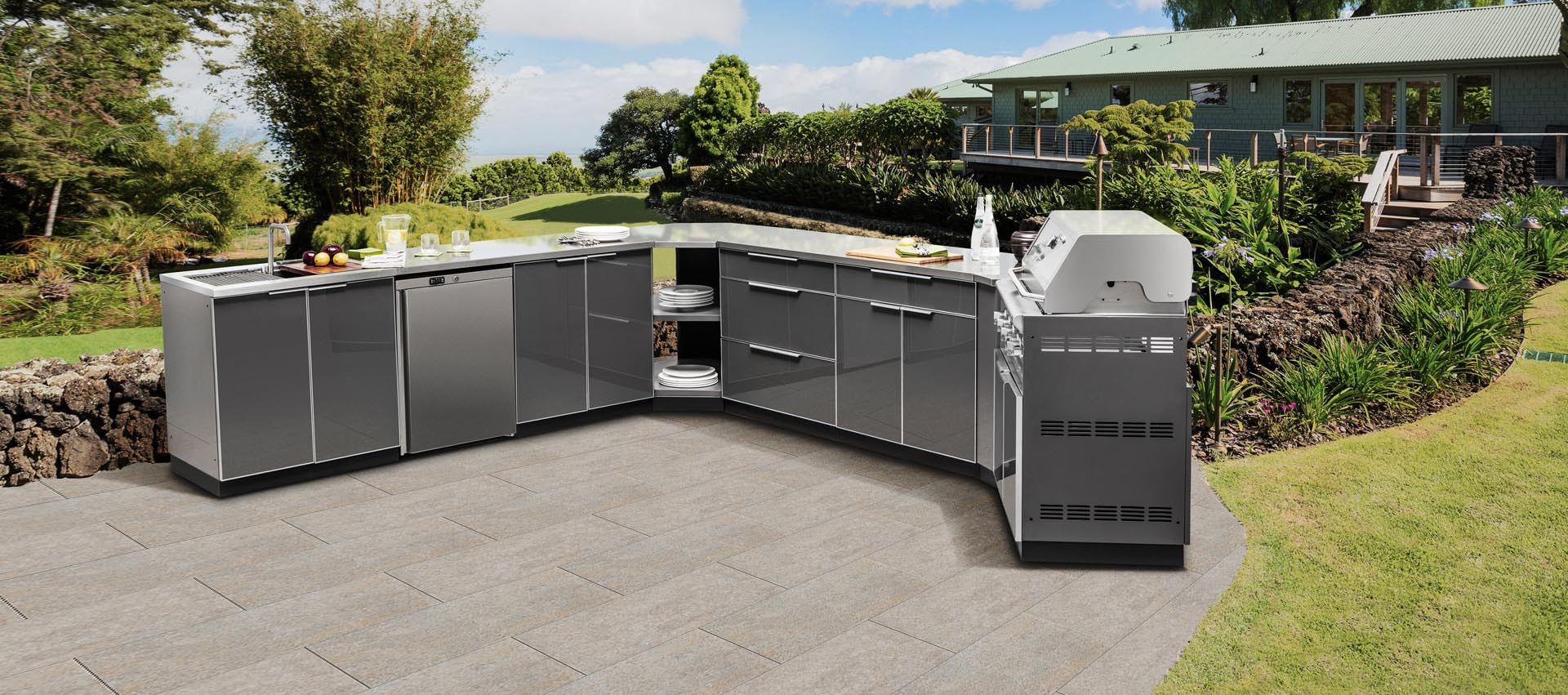 2019 Vermont Modular Outdoor Kitchens Stainless Steel Bbq Grill Furniture Buy Kitchens Stainless Steel Outdoor Furniture Modern Kitchen Cabinet Product On Alibaba Com