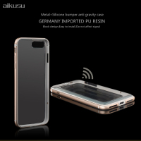 Hand free anti gravity cell phone case sillicon bumper case for iphone 7