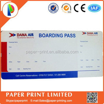 Saudia Airlines Ticket Paper Boarding Pass Printing  Printable Ticket Paper