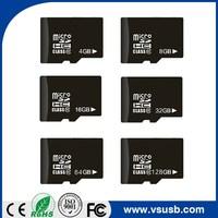 Factory price bulk Full Capacity TF Memory Card 4GB 8GB 16GB 32GB Class 10 SD Card
