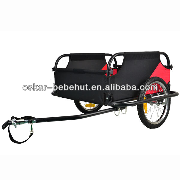 Cargo Bicycle Trailer with safety flag HIgh Quality