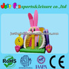 Rabbit inflatable slide for kids EN14960 certified giant slide