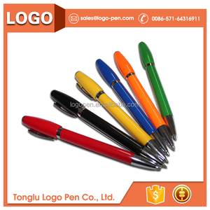 orange recycle office supply colorful twist notepad pen set