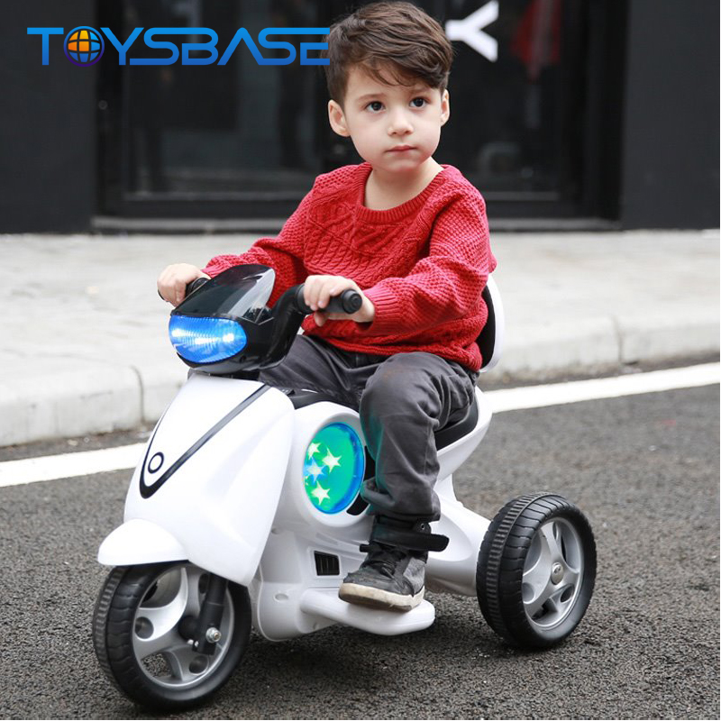 Moto Juguete Light Music Kids Motorcycle Electric Battery Ride On Toy Baby Car