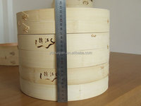 high quality chinese round bamboo food steamer /rice cooker