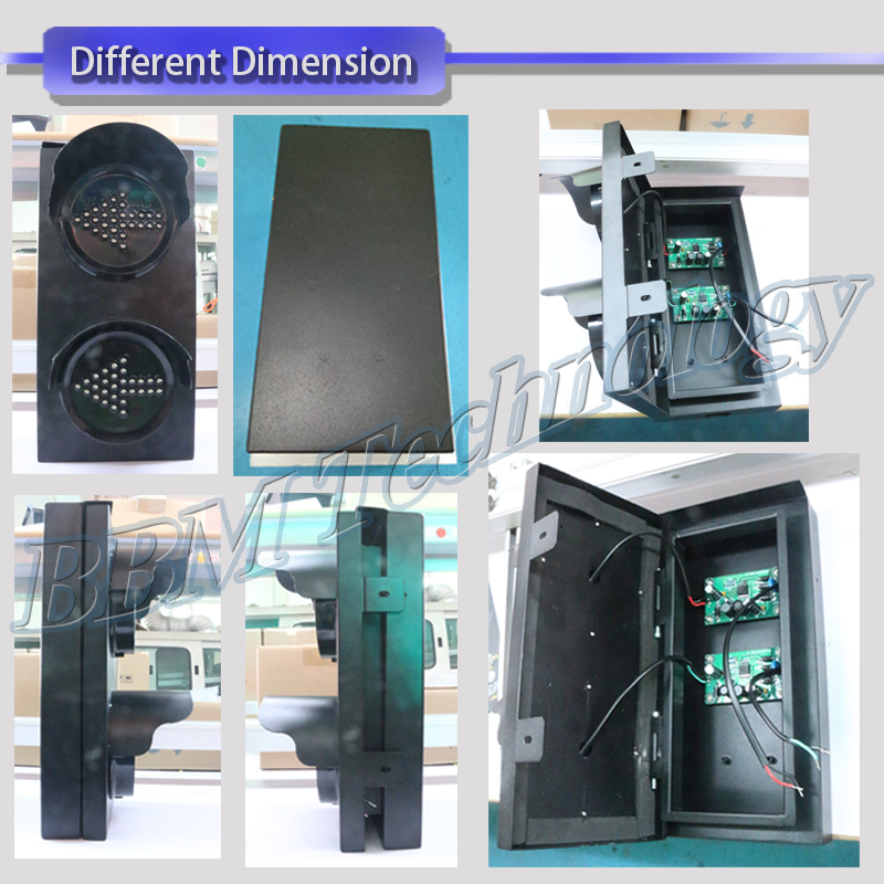 2018 new design 100mm arrow traffic light