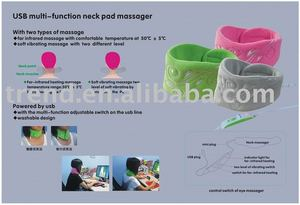 USB neck massager