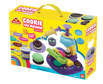 cookie machine with fun educational toys for kid 2019 hot sale  EN71 ASTM  DIY modeling dough play dough