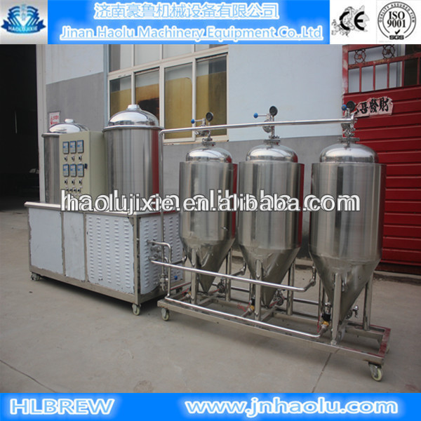 Micro Home brewing equipment for draft / Restaurant/bars Beer brewery suppliers and brewing system,