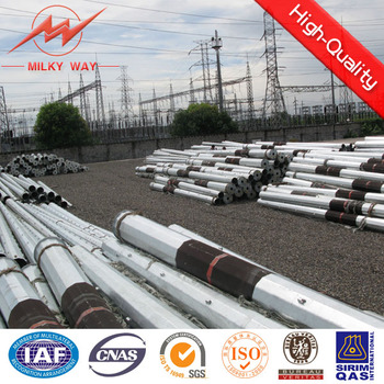 steel tubular electrical transmission poles in philippines